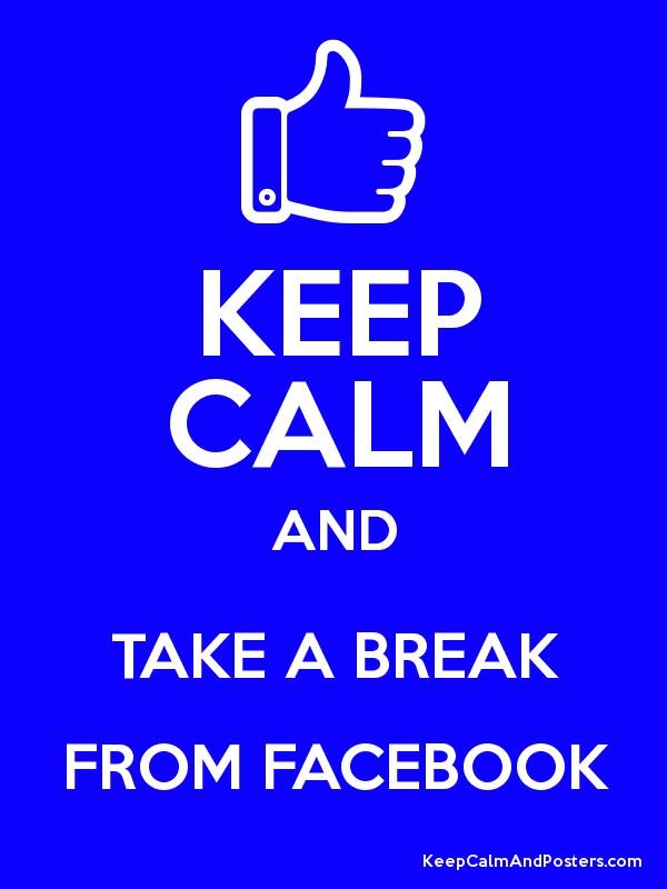 Трийсетдневен доброволен Фейсбук бан