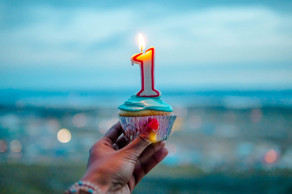 Една година блог